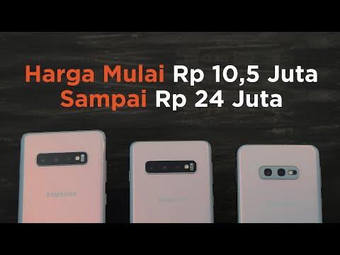 Hands-on Samsung Galaxy S10, S10+, dan S10e (Indonesia)