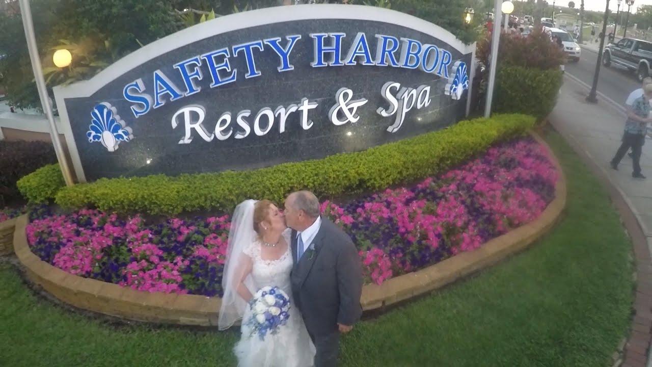 wedding at safety harbor spa youtube. Black Bedroom Furniture Sets. Home Design Ideas