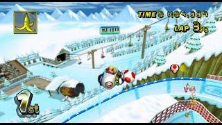 Mario Kart Wii 300cc TAS Flower Cup (No Glitch)