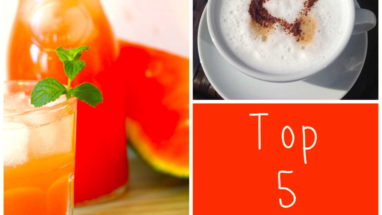 Top 5 - MyDayFriday - Meine Lieblings-Getränke - YouTube