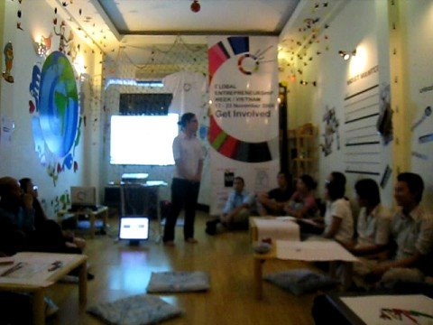 GEW vietnam volunteer workshop