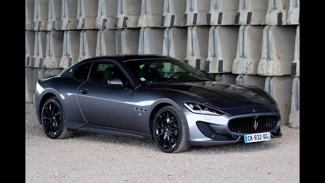 Maserati GranTurismo Sport review - YouTube