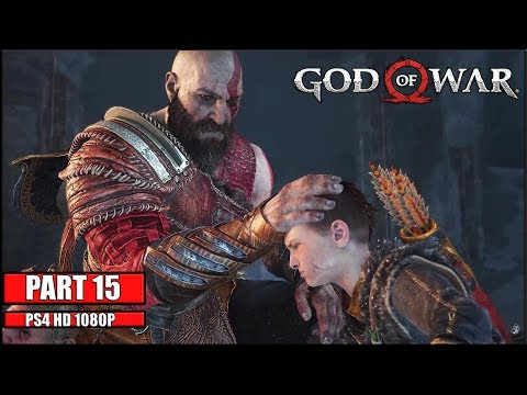 God Of War 4 Part 15 - Get Out Of My Head! No Commentary Longplay Playthrough!!