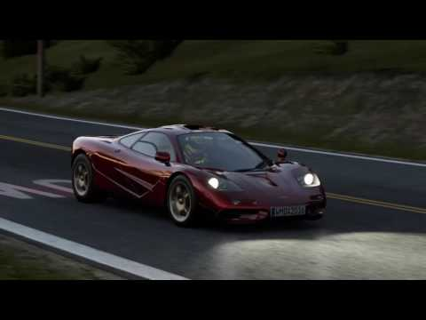 California Highway Eastbound, McLaren F1. road trip.