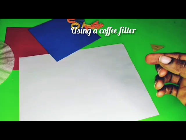 Safe and fun way to make wax paper with a child