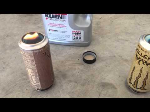 2 Cycle Oil  Burn Test