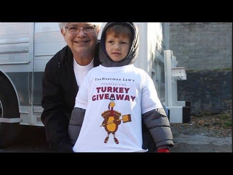 TorHoerman Law Thanksgiving Turkey Giveaway '17
