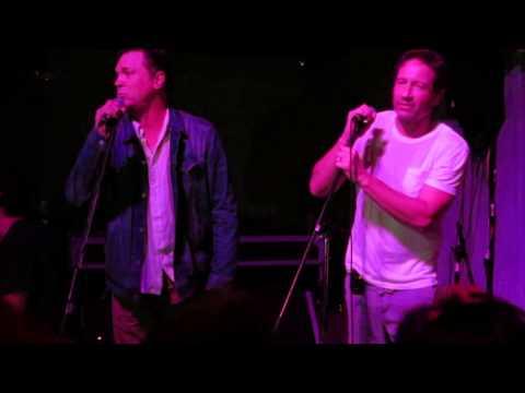 Nick Lea and David Duchovny,