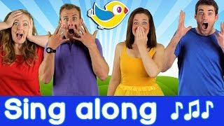 Sing Along Make a Silly Face - Song for kids, with lyrics