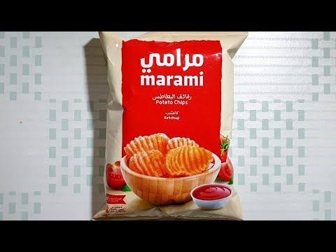 السعرات الحرارية في مرامي رقائق بطاطس بالكاتشب عبوة 20 غرام Youtube