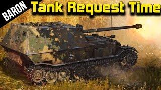 The Nazi FedEx, Ferdinand Tank Destroyer - War Thunder Tanks Gameplay