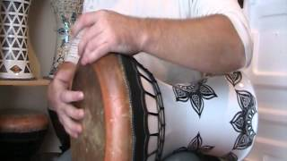 Savvas percussion solo darbuka with Fish skin