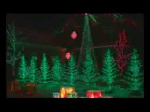 Christmas Lights Music Sync - YouTube