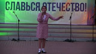 Фрагмент концерта ко Дню победы 9 мая. Белгородский Дом Офицеров - 9.05.2018 г.