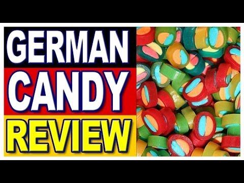 German Candy Review, Haribo Pasta-Frutta & Haribo Pico-Balla with Special German Guest Inka