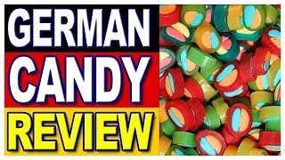 German Candy Review, Haribo Pasta-Frutta & Haribo Pico-Balla with Special German Guest Inka