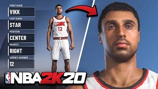 I MADE MYSELF in NBA 2k20!