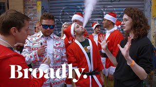 The Drunk Bros of Santacon Explain How to Get Girls