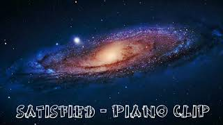 The Walls group -Satisfied - Piano Instrumental