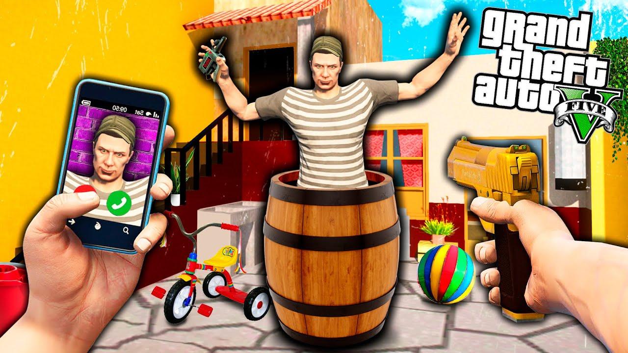 ATRAPO A EL CHAVO DEL 8 en GTA 5 !! *¿Qué estaba haciendo?* - GTA V EPIC MODS