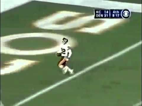 Dante Hall-  Jukes two Broncos