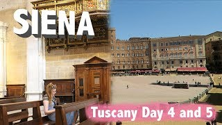 Siena Tuscany vlogs 2019 Days 4 and 5