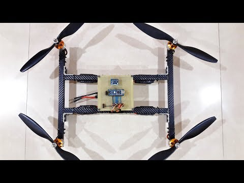 Arduino Drone Flight Controller - Multiwii | With Smartphone Control