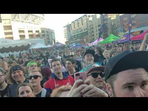 Attila live warped tour 2017 Seattle