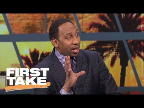 Stephen A. Smith blames LaVar Ball for Lonzo's NBA debut performance | First Take | ESPN