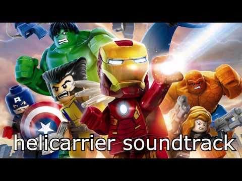 LEGO Marvel Super Heroes Soundtrack - Helicarrier Free Roam