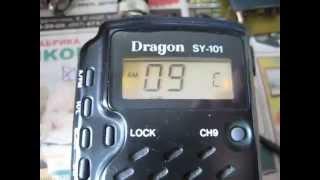 Нули-пятёрки в СиБи радиостанции Dragon sy-101