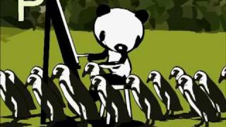 Pictures of Pandas Painting - They Might Be Giants (for kids)