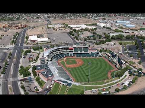 Aerial view of Albuquerque New Mexico