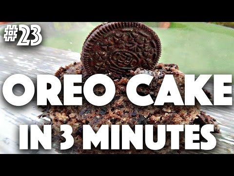 HOW TO: VEGAN OREO CAKE IN 3 MINUTES | #23 (30 Videos in 30 Days) ♥ Cheap Lazy Vegan