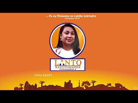Zanaky ny Faritany Fianarantsoa manohana an'i Lanto Rakotomanga