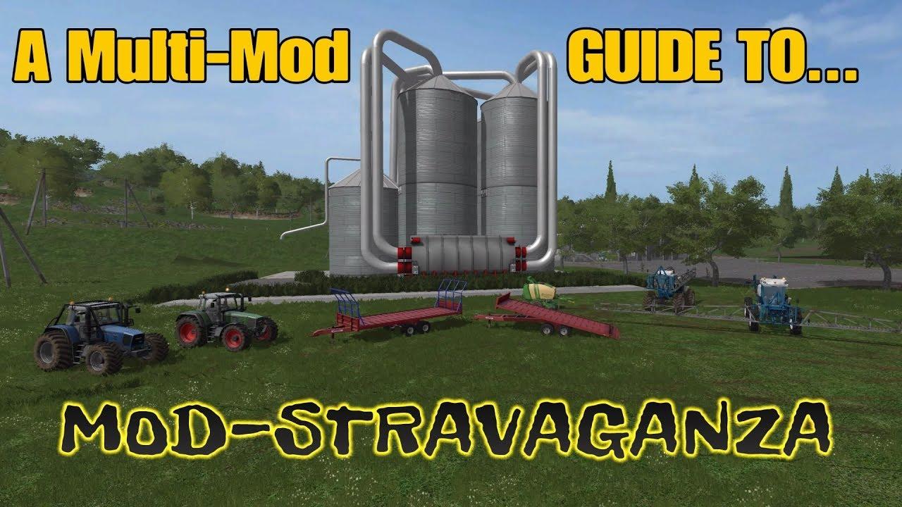 Farming Simulator 17 PS4: A Multi-Mod Guide to    MOD-STRAVAGANZA!