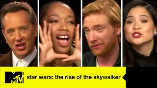 Star Wars: The Rise of Skywalker Cast Play That's The Quote You're Looking For | MTV Movies