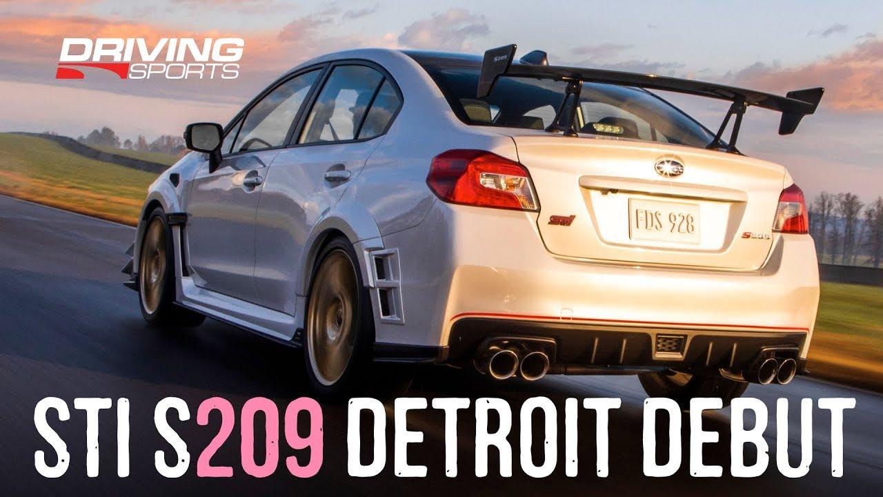 Subaru STI S209 Detroit Debut: All You Need To Know!