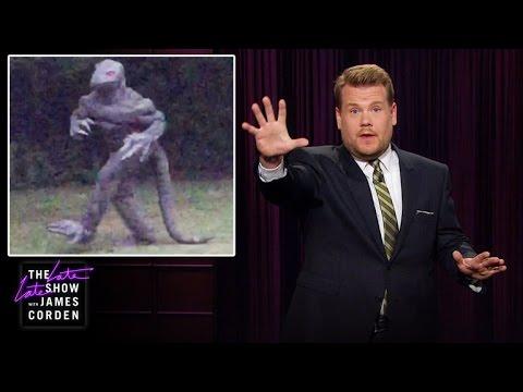 Lizard Man Is Back in South Carolina - YouTube