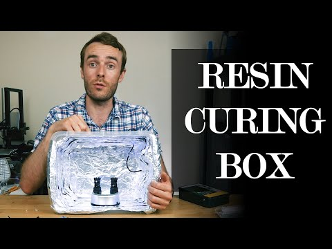 Quick and Easy DIY UV LED Resin Curing Box for DLP and SLA Printers
