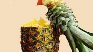 Птица из ананаса или Как красиво нарезать ананас(Полезные и вкусные блюда из ананаса Блюда с ананасомБольше всего ананасов мы едим в холодное время года...., 2016-01-25T19:38:03.000Z)