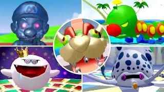 Super Mario Sunshine HD - All Bosses