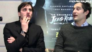 Lo chiamavano Jeeg Robot: Intervista a Claudio Santamaria e Luca Marinelli