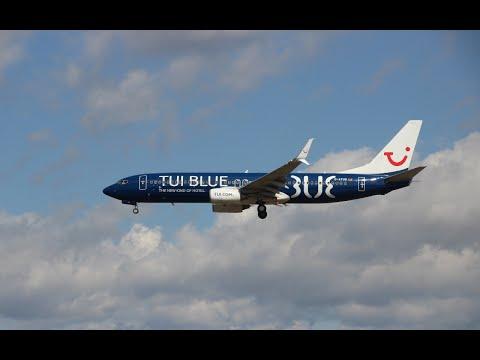 Plane Spotting at Frankfurt 2016 Good sunny day -- 4K UHD -- 8 August 2016 --