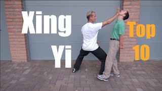 Kung Fu Top 10 Strikes of Xing Yi Quan