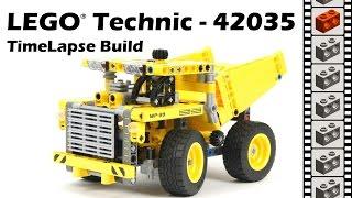 Lego Technic 42035, Mining Truck - Timelapse Build