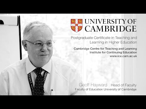Postgraduate Certificate in Teaching and Learning in Higher Education | Geoff Hayward Presentation
