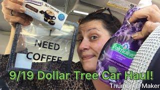 9/19 LARGE 🛍Dollar Tree Car Haul !🛍wishlist!!