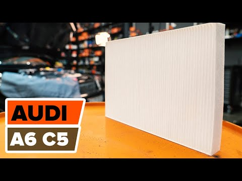 Как се сменят филтър за купе на Audi A6 C5 урок Autodoc