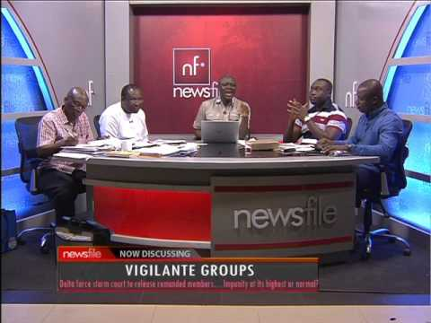 Vigilante Groups - Newsfile on JoyNews (8-4-17)